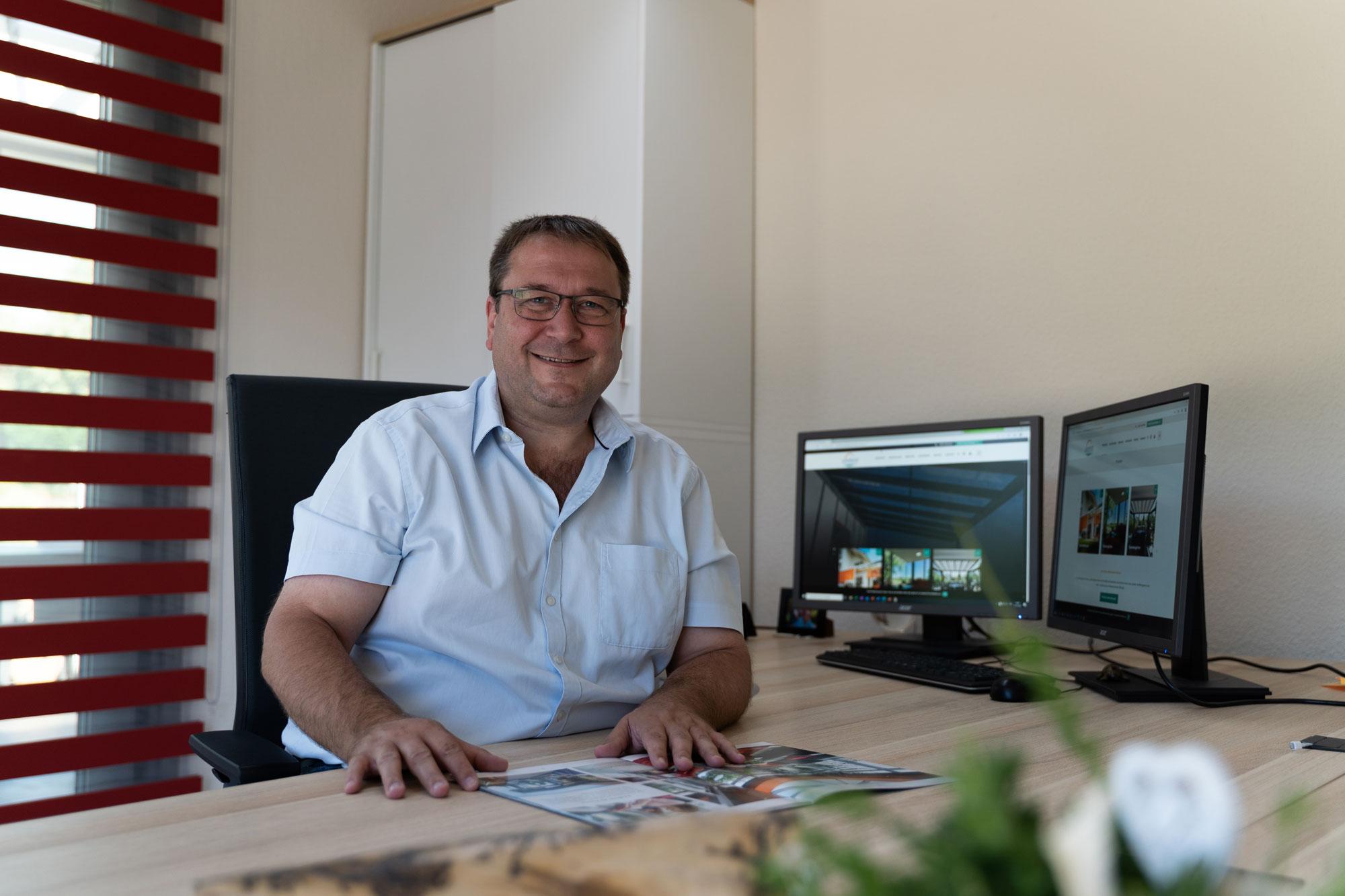Ziewers Wintergarten - Jochen Korz, Geschäftsleitung
